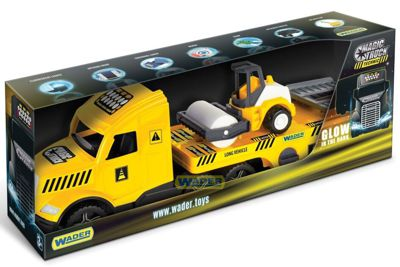Эвакуатор Magic Truck Technic с катком Wader (36450)