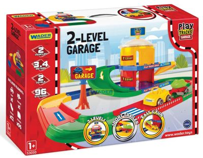 Гараж 2 этажа Play Tracks Garage Wader (53010)